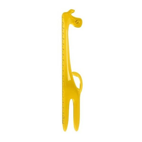 Regla jirafa amarilla