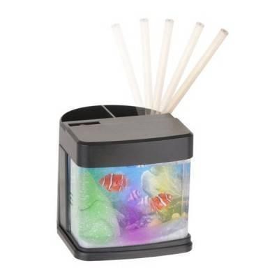 Portalápices Reef con luz USB