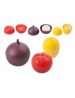 Set de contenedores vegetales x 3