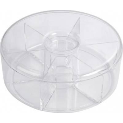 Caja de té redonda