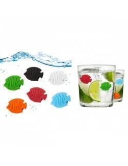 Marca copas Aquarium x 6
