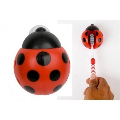 Soporte cepillo dental Ladybird ventosa