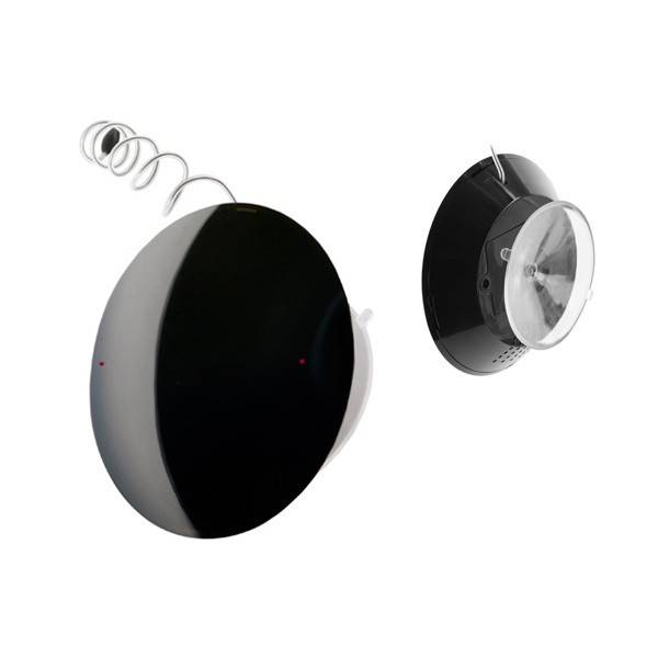 Radio ducha UFO negro